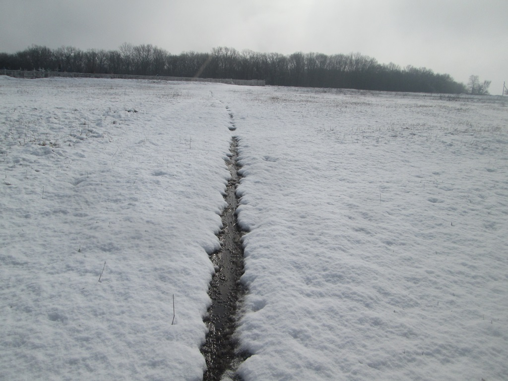 снег весной фото (101)