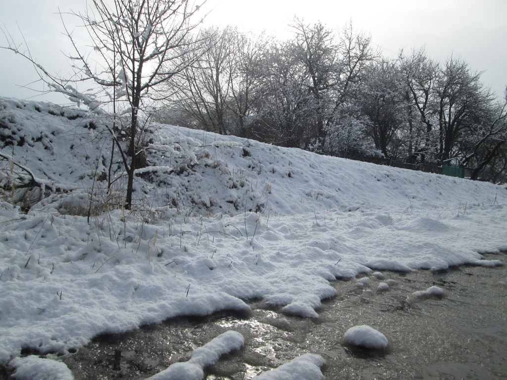 снег весной фото (54)