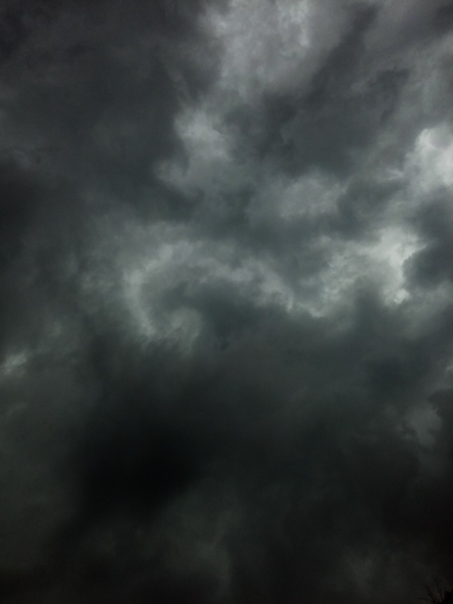 Clouds before the rain