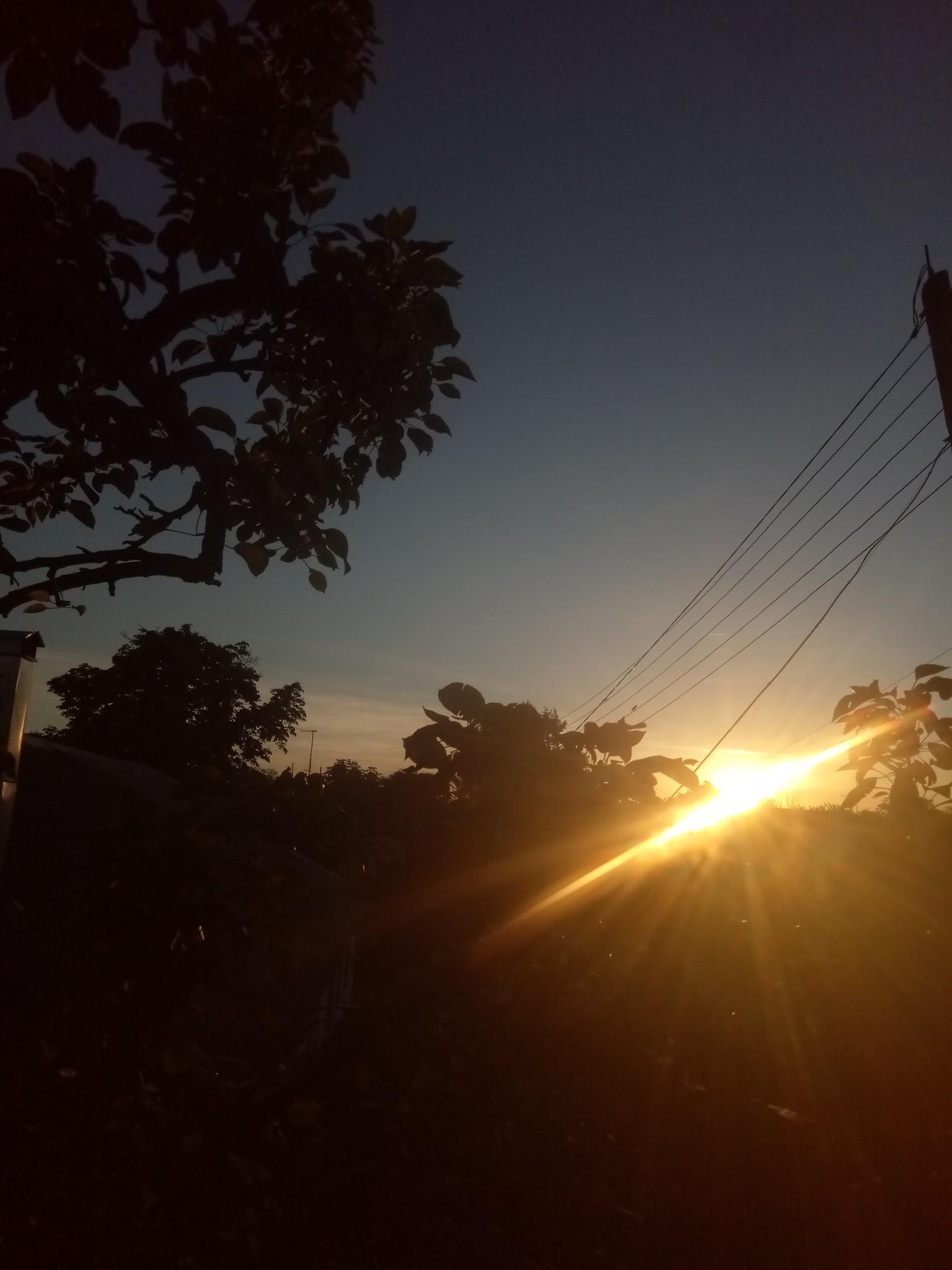 Evening sun, sunset photos