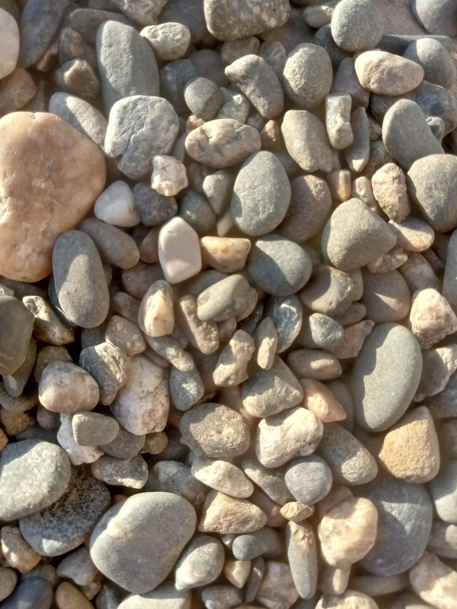 Stones texture - sea stones photo