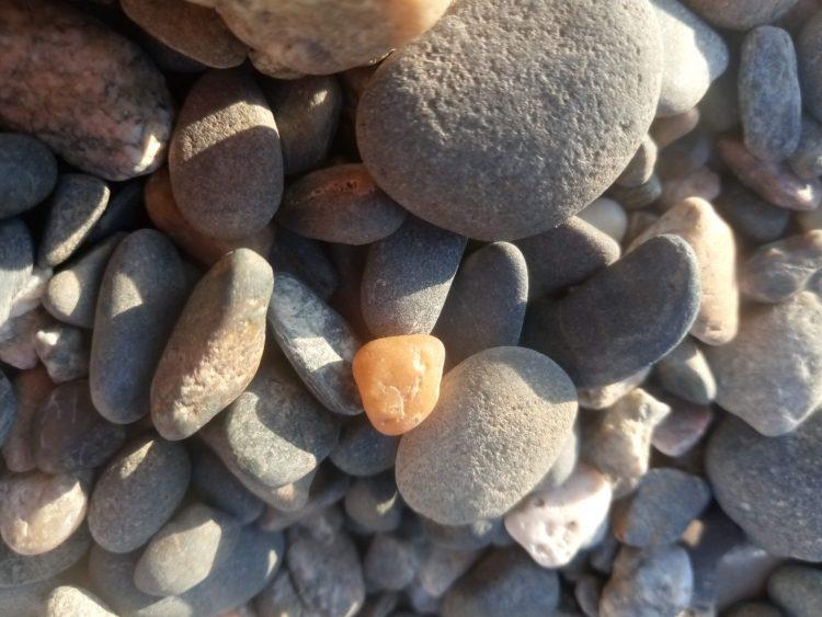 Stones texture – sea stones photo
