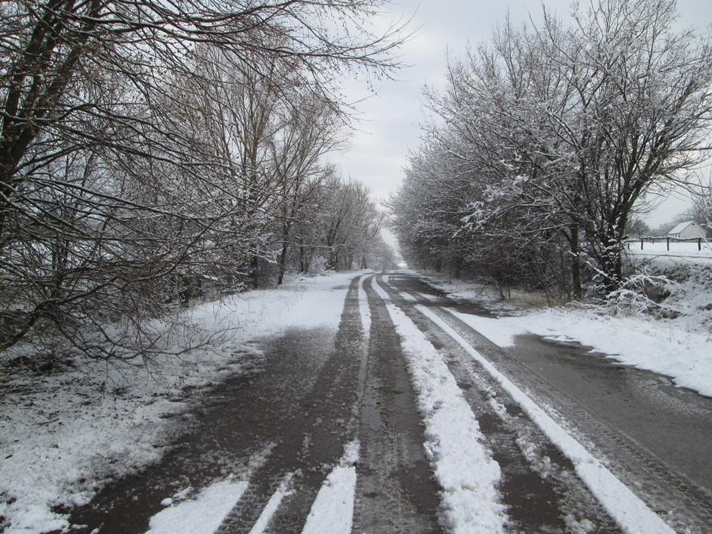 снег весной фото (19)