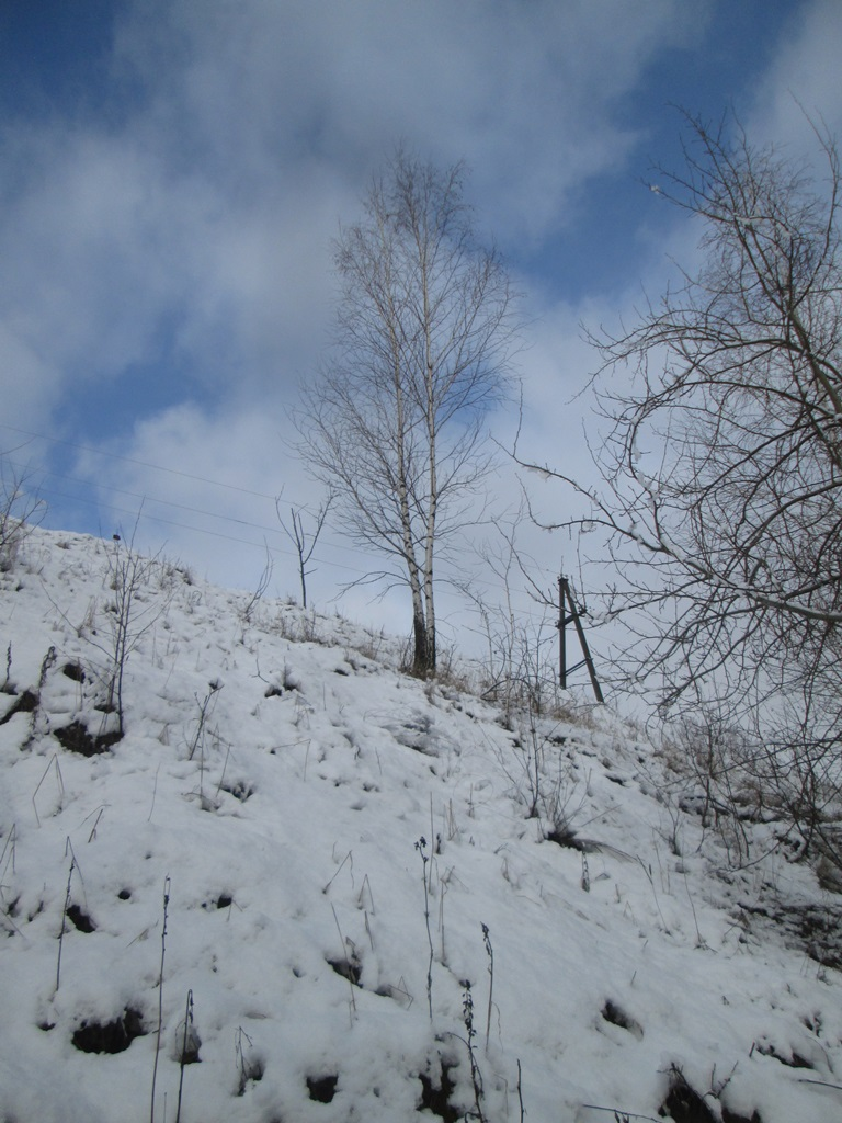 снег весной фото (44)